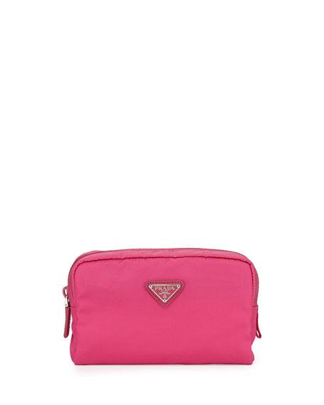 Vela Square Cosmetics Case, Pink (Fuxia)