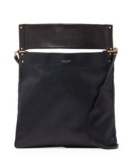 Tape Medium Convertible Tote Bag, Navy/Black