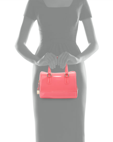 Candy Cookie Mini Satchel Bag, Rose Pink