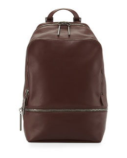 3.1 Phillip Lim 31-Hour Zip-Around Backpack, Mahogany