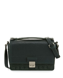 3.1 Phillip Lim Pashli Mini Leather Messenger Bag, Hunter