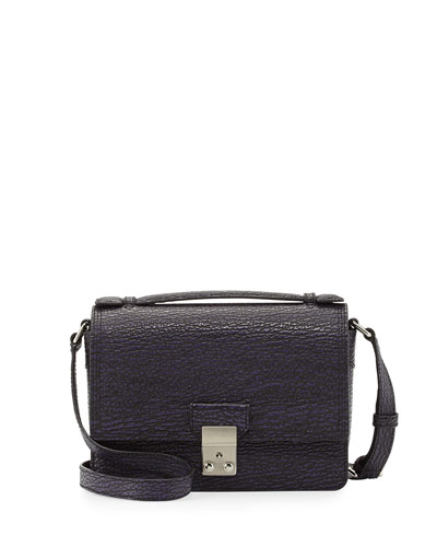 3.1 Phillip Lim Pashli Mini Leather Messenger Bag, African Violet