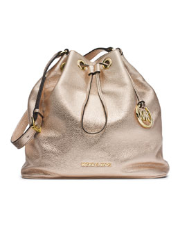 MICHAEL Michael Kors  Large Jules Drawstring Shoulder Bag