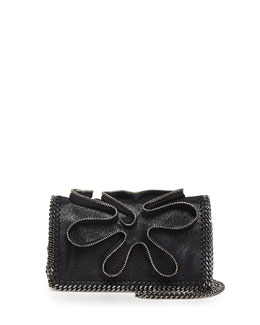 Stella McCartney Falabella Zipper Crossbody Bag, Black