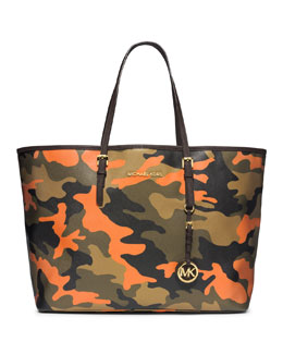 MICHAEL Michael Kors  Medium Jet Set Camo Travel Tote