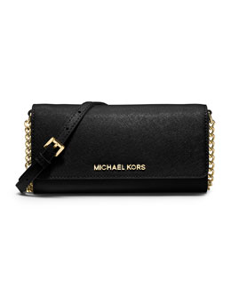 MICHAEL Michael Kors  Jet Set Travel Wallet On A Chain