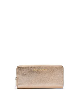 MICHAEL Michael Kors  Jet Set Travel Zip-Around Continental Wallet