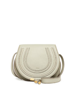 Chloe Marcie Small Satchel Bag, Light Green