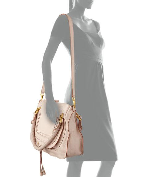 2f1ffc3426d Chloe Marcie Medium Satchel Bag, Nude (Pink)