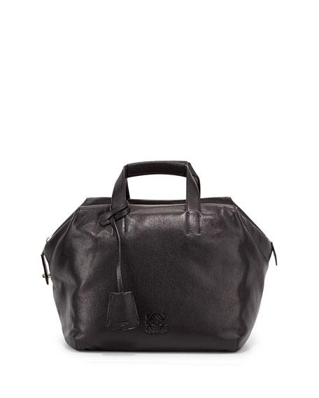 Origami Cubo Medium Tote Bag, Black
