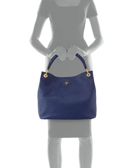 Prada Vitello Daino Single-Strap Hobo Bag ebc3daaffb0e9