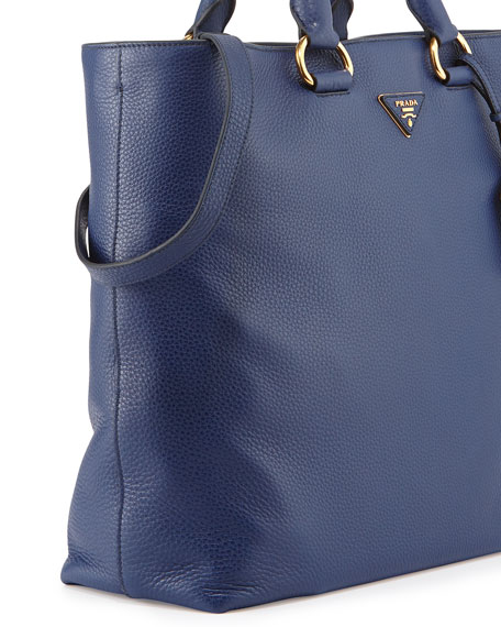 prada galleria bag ink blue