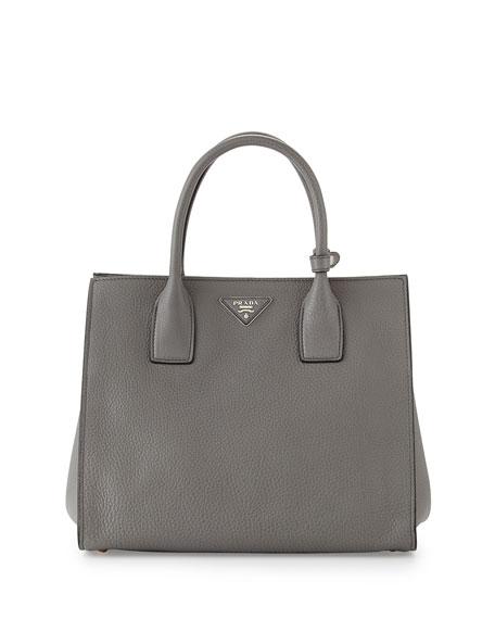 Daino Tote Bag, Gray (Marmo)