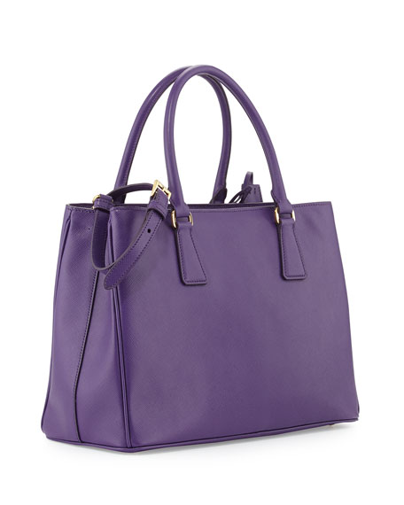 Saffiano Gardener's Tote Bag, Violet (Viola)