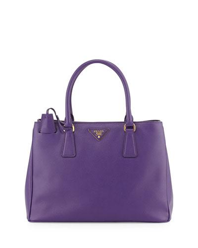Prada Saffiano Gardener's Tote Bag, Violet (Viola)