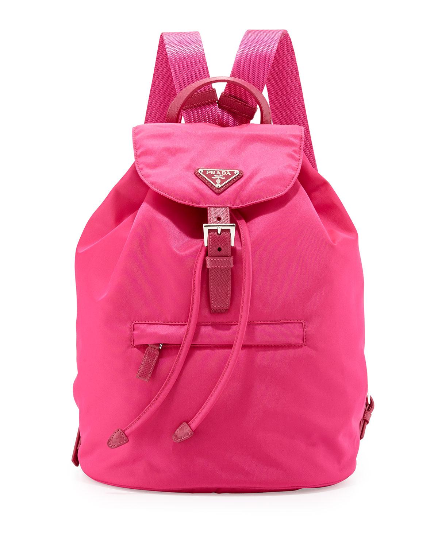 103ddcffcf2b Prada Vela Medium Backpack, Pink (Fuxia) | Neiman Marcus