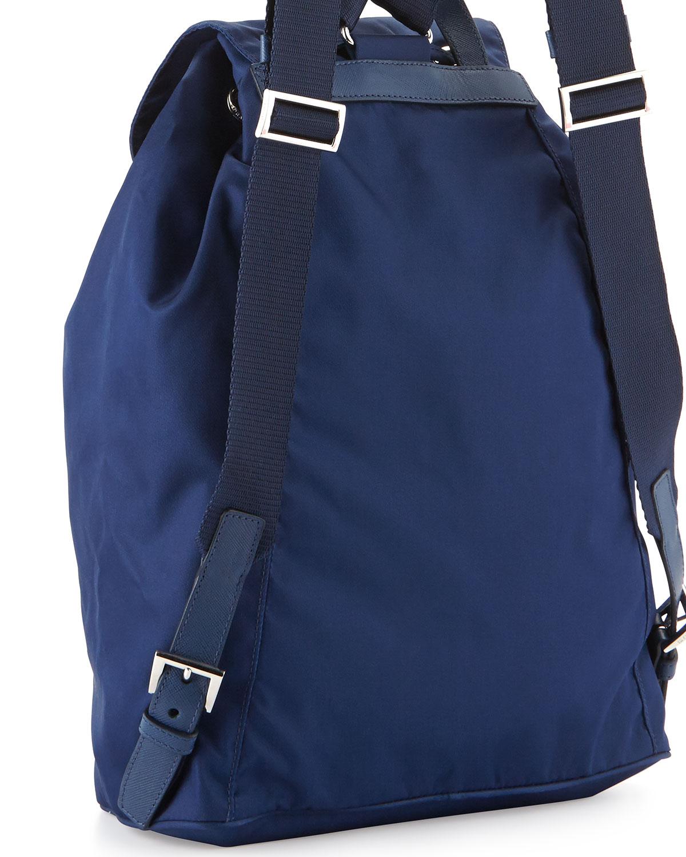 d30f50d4c604 good prada vela medium backpack blue royal neiman marcus 1c6eb abffd