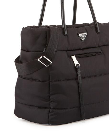 timeless design best price find workmanship Tessuto Bomber Tote Bag Black (Nero)