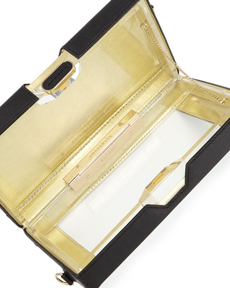 Astaire Box Clutch & Pouch Set, Black