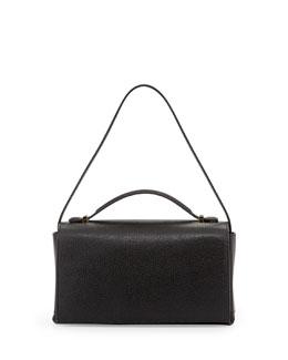 THE ROW Book Bag 13 Small Satchel Bag, Black