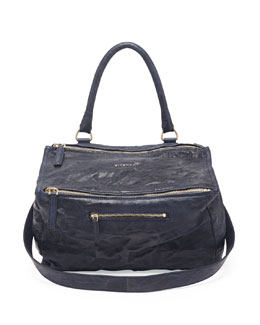 Givenchy Pandora Pepe Medium Shoulder Bag, Navy