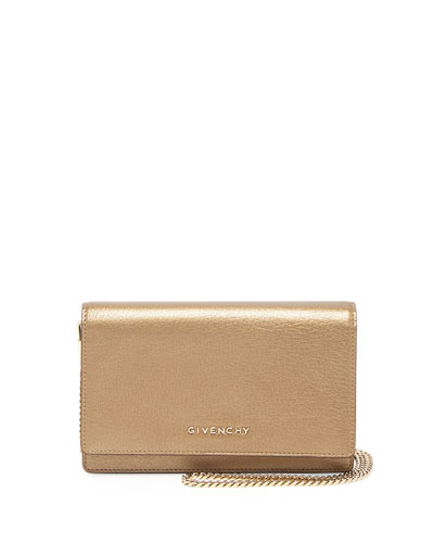 Pandora Leather Wallet, Golden