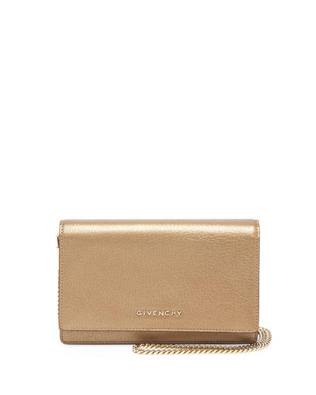 Pandora Leather Wallet, Golden