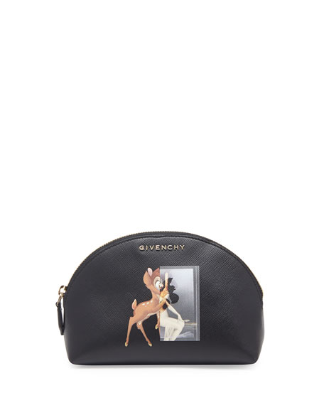 Leather Beauty Case, Bambi Print