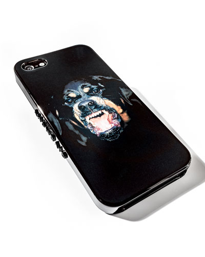 Givenchy Rottweiler iPhone 5 Hard Shell Case, Black Multi