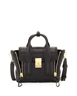 3.1 Phillip Lim Pashli Mini Zip Satchel Bag, Black
