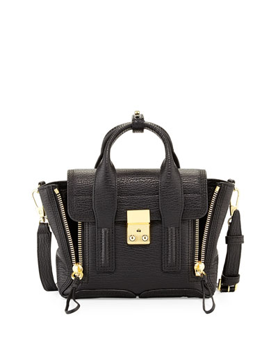 3.1 Phillip Lim Pashli Mini Zip Satchel Bag,
