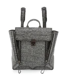 3.1 Phillip Lim Pashli Zip Backpack, Black/Cream