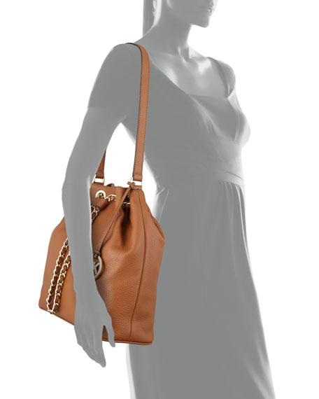 Large Frankie Drawstring Shoulder Bag