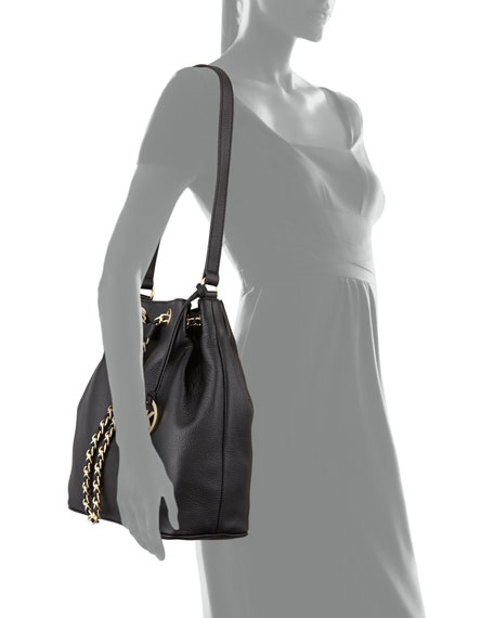 Large Frankie Drawstring Shoulder Bag
