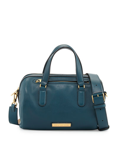 MARC by Marc Jacobs Luna Leather Satchel Bag, Hopper Green