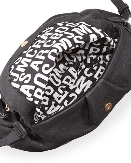 Electro Q Natasha Crossbody Bag, Black