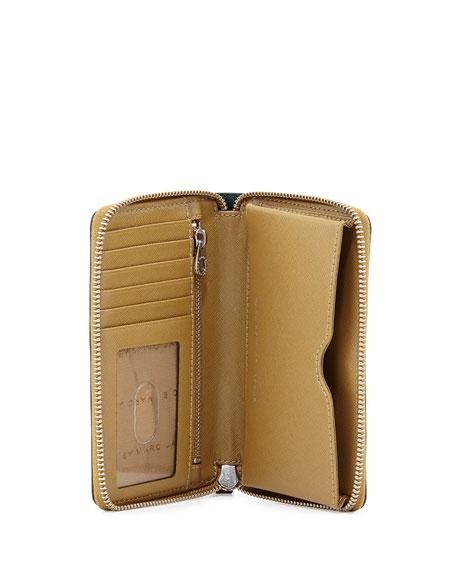 Sophisticato Wingman Wristlet Wallet, Hopper Green