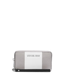 MICHAEL Michael Kors  Large Jet Set Travel Coin Multifunction Phone Wallet