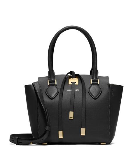 Miranda Extra Small Tote Bag, Black