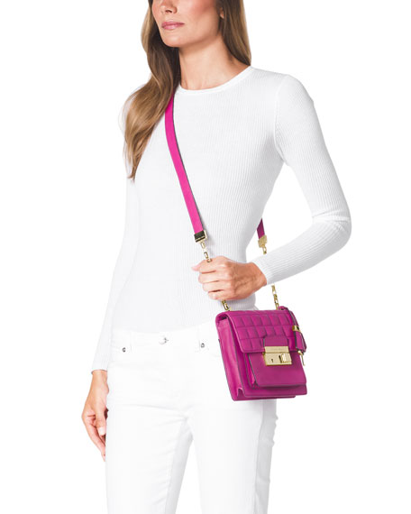 Small Gia Quilted Crossbody