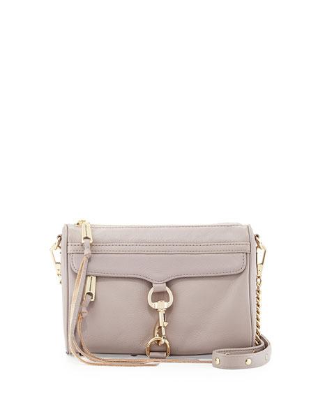 Mini MAC Crossbody Bag, Tortora