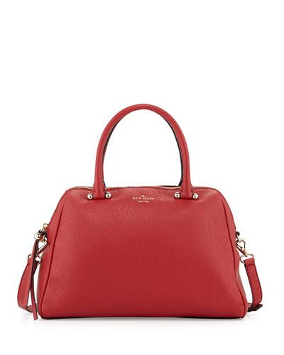 kate spade new york charles street brantley tote bag, dynasty red