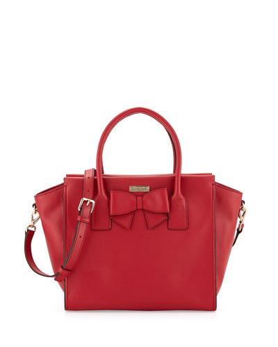 kate spade new york hanover street charee tote bag, dynasty red