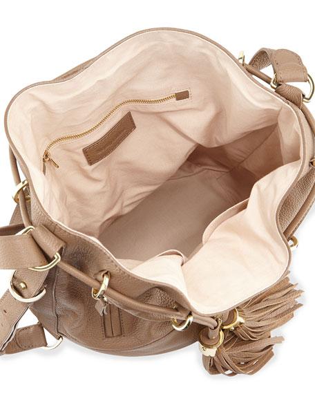 Vicki Large Bucket Bag, Hippo