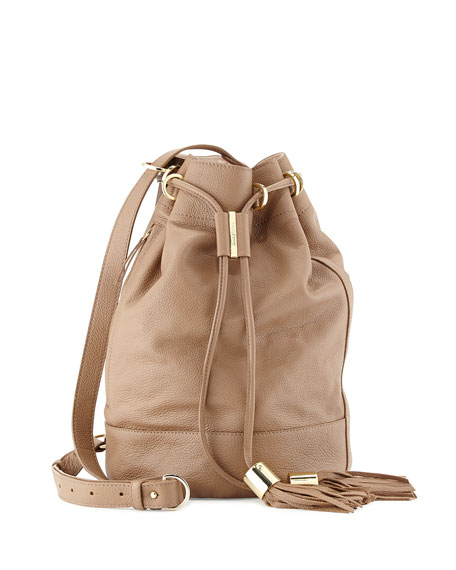 See by Chloe Vicki Large Bucket Bag, Hippo