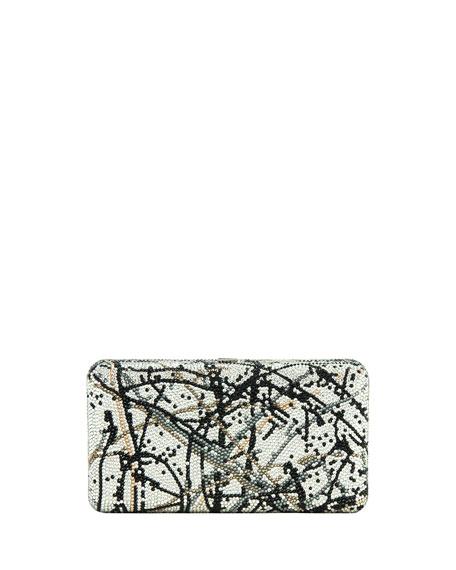 Airstream Crystal Splatter Clutch Bag, Rhine Multi