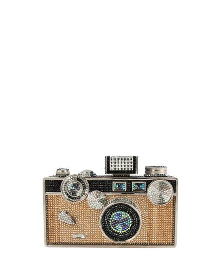 Camera Crystal Minaudiere, Jet Multi