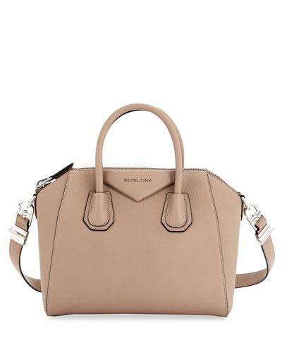 Givenchy Antigona Mini Sugar Crossbody Bag, Black
