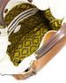 Aquarius Leather Shopper Bag, Gold/Multi