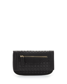 Danielle Nicole Billy Quilted Faux-Leather Wallet, Black
